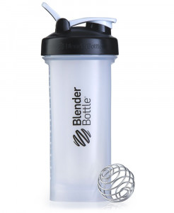 Шейкер спортивный BlenderBottle Pro45 1270ml Clear/Black Original