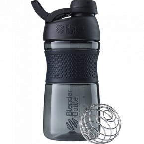 Спортивная бутылка-шейкер BlenderBottle SportMixer Twist 590ml Black Original