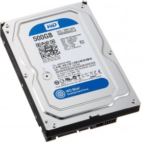 Жесткий диск Western Digital 500Gb Blue (WD5000AZLX) 5