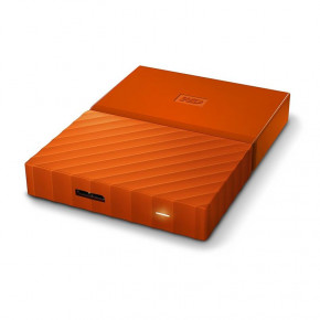 Жесткий диск Western Digital HDD ext 2.5 USB 2.0TB My Passport Orange (WDBS4B0020BOR-WESN) 4
