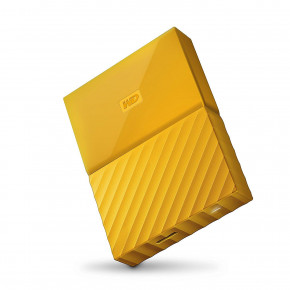 Жесткий диск Western Digital My Passport 2.5 USB 3.0 1TB Yellow (WDBYNN0010BYL-WESN)