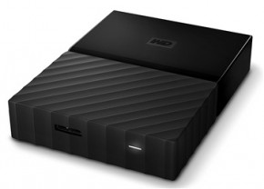 Жесткий диск Western Digital My Passport 2.5 USB 3.0 4TB Black (WDBYFT0040BBK-WESN) 3