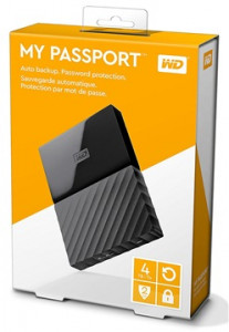 Жесткий диск Western Digital My Passport 2.5 USB 3.0 4TB Black (WDBYFT0040BBK-WESN) 6