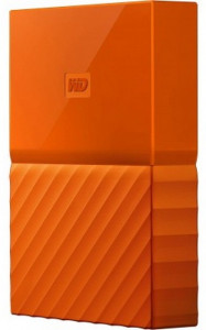 Жесткий диск Western Digital My Passport 2.5 USB 3.0 4TB Orange (WDBYFT0040BOR-WESN) 3