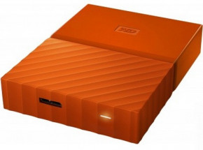 Жесткий диск Western Digital My Passport 2.5 USB 3.0 4TB Orange (WDBYFT0040BOR-WESN) 4