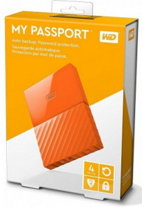 Жесткий диск Western Digital My Passport 2.5 USB 3.0 4TB Orange (WDBYFT0040BOR-WESN) 6