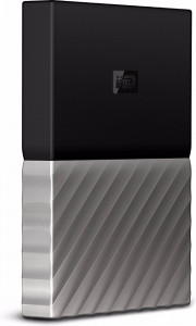 Жесткий диск Western Digital My Passport Ultra Gray 4 TB (WDBFKT0040BGY-WESN)