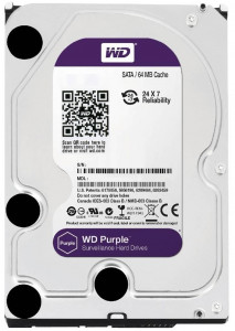 Жесткий диск Western Digital 4.0TB Purple (WD40PURZ)