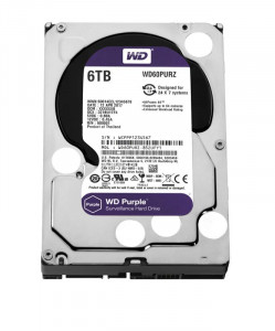 Жесткий диск Western Digital 6.0TB Purple (WD60PURZ)