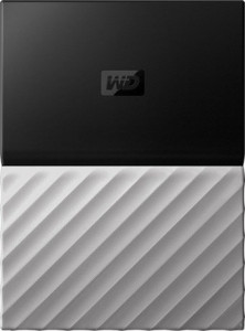 Жесткий диск Western Digital My Passport Ultra Gray 1 TB (WDBTLG0010BGY-WESN)