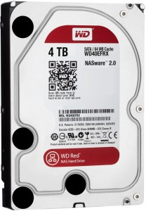 Фотография Жесткий диск Western Digital 3.5 SATA 3.0 4TB IntelliPower 64MB Red (WD40EFRX) (0)