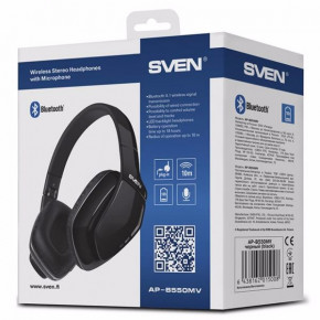 Наушники Sven AP-B550MV Bluetooth (AP-B550MV) 6