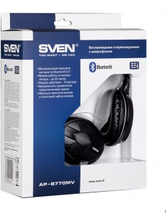 Наушники Sven AP-B770MV bluetooth 3.0 7