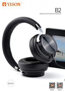 Наушники Celebrat Bluetooth B2 Black