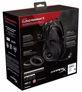 Наушники Kingston HyperX Cloud Revolver S Gaming (HX-HSCRS-GM/EE) 6