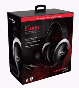 Гарнитура Kingston HyperX Cloud Pro Gaming Silver (HX-HSCL-SR/NA) 6