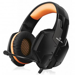 Наушники Real-El GDX-7700 Surround 7.1 Black-Orange