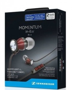 Наушники Sennheiser Momentum in-ear M2 IEG Black 6