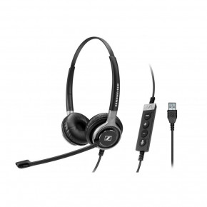 Наушники Sennheiser SC 660 USB ML (504553) 2