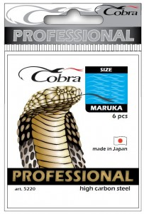 Крючки Cobra 5220-012 Maruka 10pcs. 4