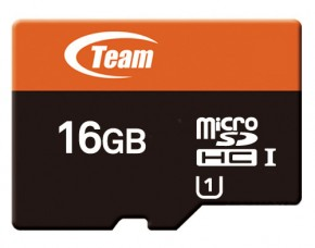 Карта памяти Team microSDHC 16GB Class 10 Xtreem UHS-1 (adapter SD) (TUSDH16GUHS03)