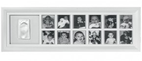 Рамка Baby Art First Year Print Frame White & Grey (34120085)