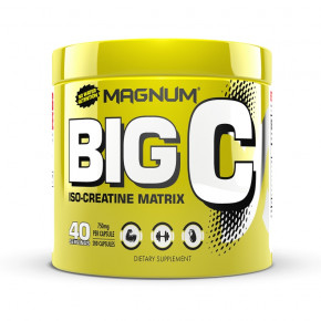 Креатин Magnum Nutraceuticals Big C 200 капсул (4384301501)