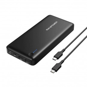 Внешний аккумулятор RavPower Power Bank 26800mAh 30W Black (RP-PB058)
