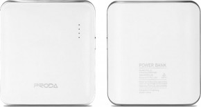 Внешний аккумулятор Remax Power Bank Mink Series 5000 mah White
