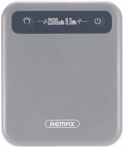 Внешний аккумулятор Remax Power Bank Pino Series 2500 mah Grey