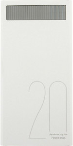 Внешний аккумулятор Remax Revolution Series RPL-58 20000 mah White