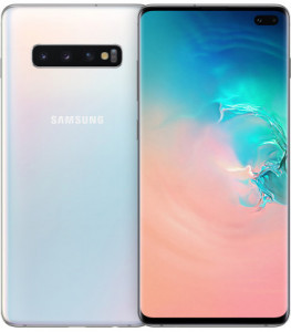 Смартфон Samsung Galaxy S10+ SM-G975 DS 128GB White (SM-G975FZWD) *EU 3