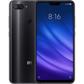 Смартфон Xiaomi Mi 8 Lite 4/64Gb Midnight Black *EU 3