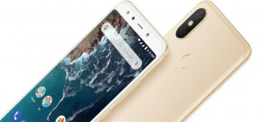 Смартфон Xiaomi Mi A2 4/32GB Gold *EU 12