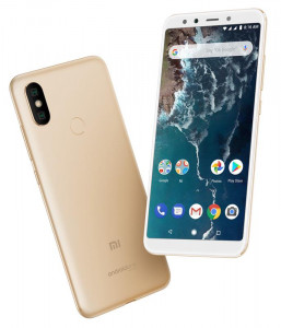 Смартфон Xiaomi Mi A2 4/32GB Gold *EU 13