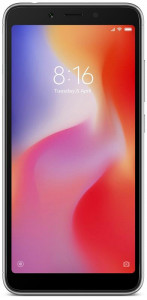 Смартфон Xiaomi Redmi 6 3/32GB Black *EU 3