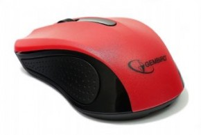 Мышь Gembird wireless (MUSW-101-R) Red 3