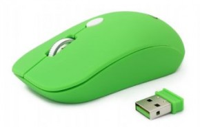 Мышь Gembird wireless (MUSW-102-G) Green 4