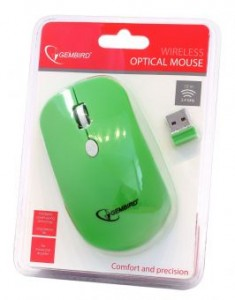 Мышь Gembird wireless (MUSW-102-G) Green 5