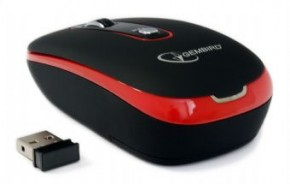 Мышь Gembird wireless (MUSW-103-R) Red 4
