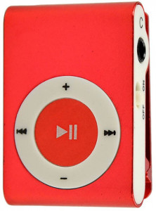 Плеер Toto TPS-03 Without display Earphone Mp3 Red