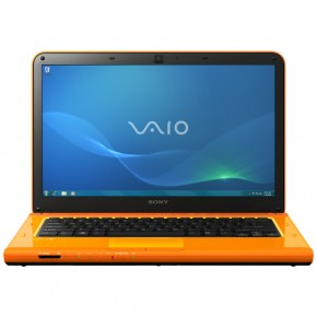 Ноутбук Sony VAIO VPC-CA2S1R/D Orange
