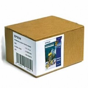 Бумага Epson 100mm x150mm Premium Glossy Photo Paper, 500л. (C13S041826)
