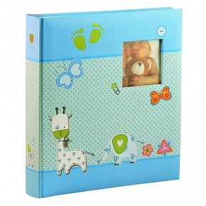 Альбом Henzo 280х305 Babyalbum Baby Moments Blue 98.405.07