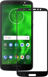Защитное стекло Mocolo 3D Full Cover Tempered Glass Moto G6 Plus Black