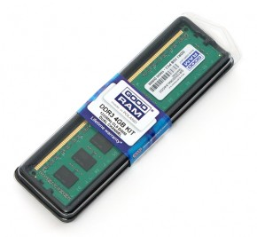 Память Goodram DDR3 4Gb 1333MHz (GR1333D364L9/4G)