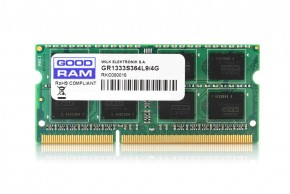 Память Goodram SO-DIMM DDR3 8GB 1600MHz (GR1600S3V64L11/8G)
