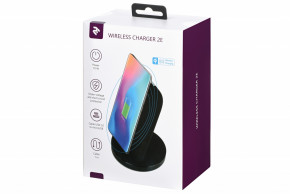 Беспроводное ЗУ 2E Wireless Charging Stand Black (2E-WCQ01-04) 6