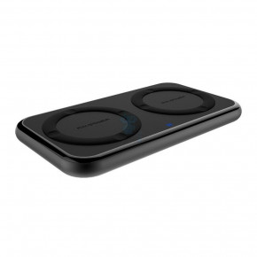 Зарядное устройство RavPower Wireless Fast Dual Qi Charging Pad 36W Black (RP-PC065)