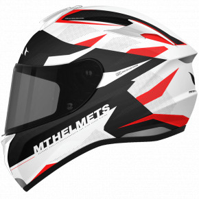 Мотошлем MT Helmets Targo Enjoy Gloss Pearl Red M